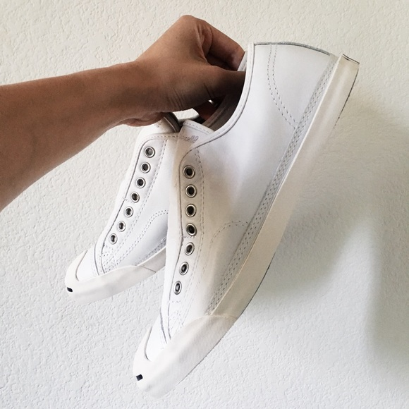 b4364ac34e39 Converse Other - Converse Jack Purcell Leather Low Profile Slip